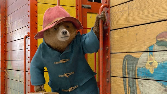 "The beloved Peruvian bear (voiced by Ben Whishaw) goes on a new adventure in London in ""Paddington 2."""