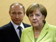 Putin used a dog to scare Merkel and other reasons they won't get along at G-20 summit