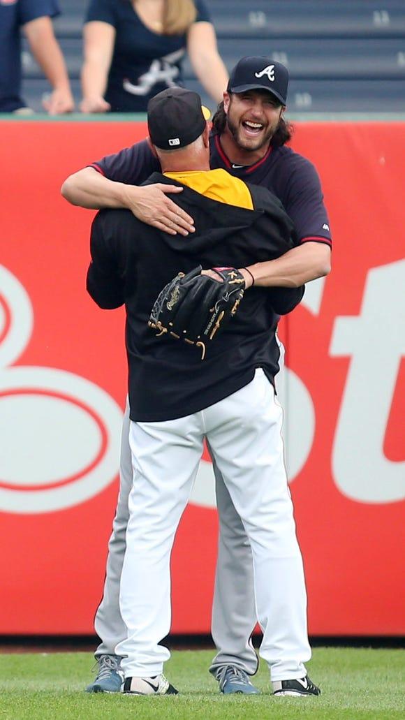 USP MLB: ATLANTA BRAVES AT PITTSBURGH PIRATES S BBN USA PA