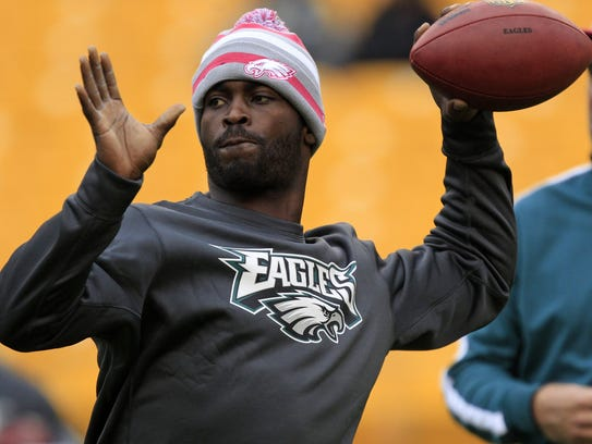 Michael Vick, as quarterback for Philadelphia Eagles,