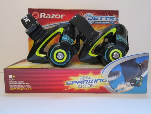 Razor Usa's Jetts Heel Wheels Toy Is on W.A.T.C.H.'s