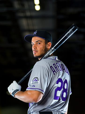 Nolan Arenado won his first Gold Glove in 2013, and