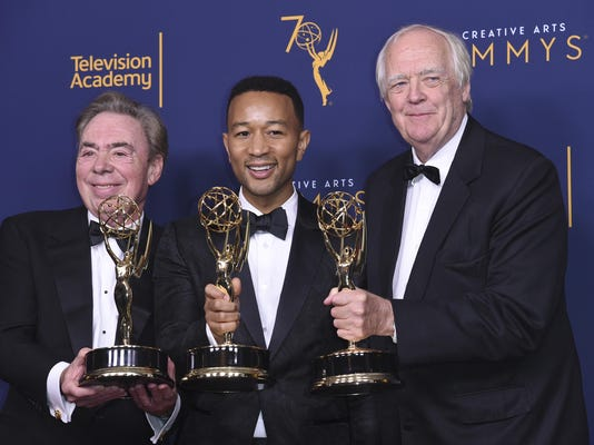Andrew Lloyd Webber,John Legend,Tim Rice