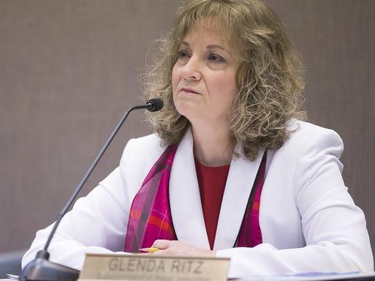 Glenda Ritz, Indiana superintendent of public instruction.