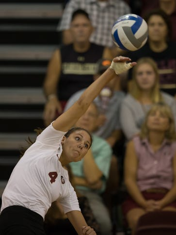 Wayne Memorial graduate Katie Horton has made a big impact in her first season with the nationally-ranked Florida State University volleyball team.