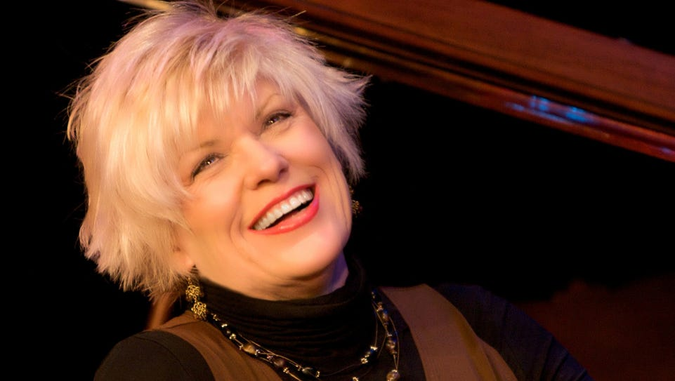 Vocalist Nancy Kelly, a Rochester native, performs