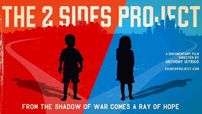 """""""The 2 Sides Project"""" film poster"""