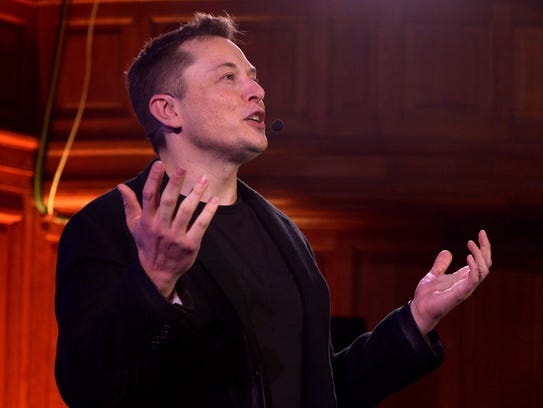 Elon Musk, CEO of US automotive and energy storage