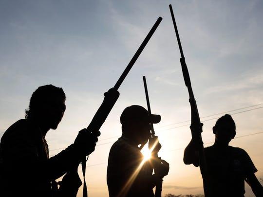 La narco violencia no cesa en México.