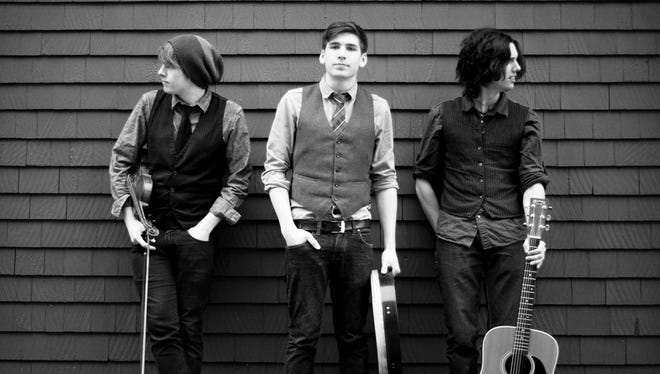 The band Ten Strings and a Goat Skin plays Saturday at the Thrasher Opera House in Green Lake.