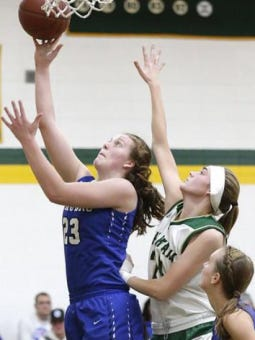 Emily Mueller will be part of the Division 4 South team that will play the Division 4 North in the Wisconsin Basketball Coaches Association All Star Game at 10:45 a.m. on Friday June 15.