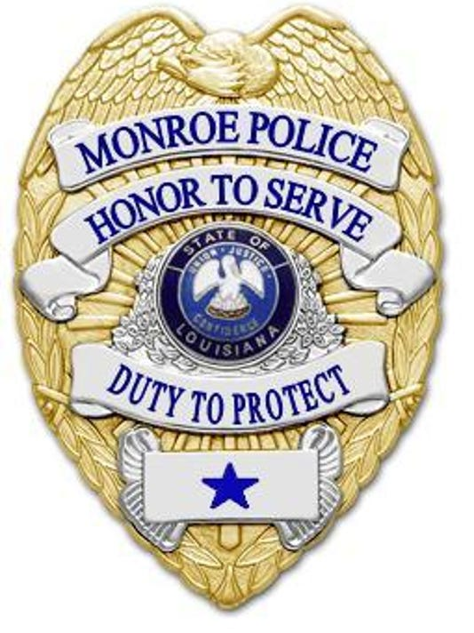 Monroe PD badge.JPG