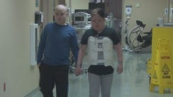 Lucas Lowe and Stella Usiak, both 12-years-old, say