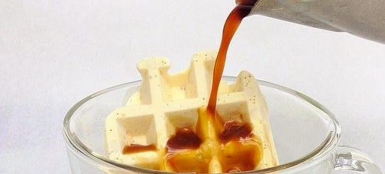 The waffogato. Coffee and waffles, anyone?