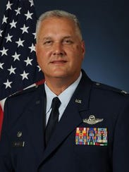 """Colonel Jimmie """"Pat"""" Brooks is the Vice Commander of"""