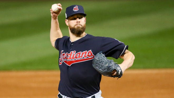 Indians pitcher Corey Kluber provided another strong start for Cleveland.