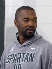 Curtis Blackwell was on Mark Dantonio's staff at MSU from 2013-17.