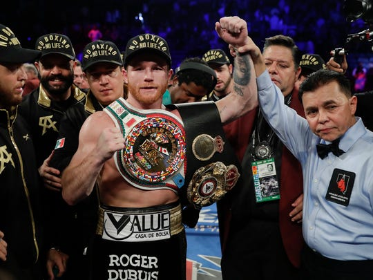"Saul ""Canelo"" Alvarez won what probably is HBO's last pay-per-view boxing battle."