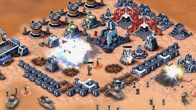 A screenshot from 'Star Wars: Commander.'