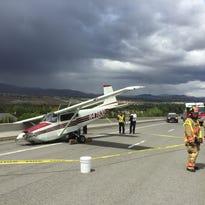Watch: Small plane crash-lands on McCarran