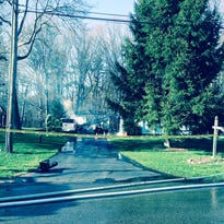 A woman was found dead in a garage fire on North Hillcrest in Kimball Township Friday evening.