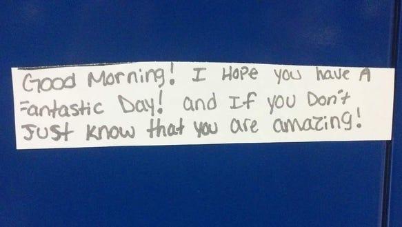 webster note morning