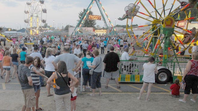 The Rolla Lions Club Annual Carnival from a prior year.
