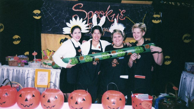 A scene from the 1999 Spooktacular.
