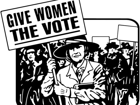 1910-1920 women protesters, Give Women The Vote  Grouped Elements
