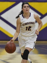 Brooke Geier broke Kewaunee's single-season scoring