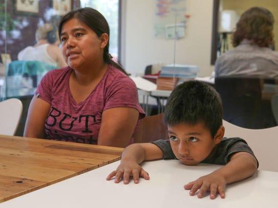 Guatemalan immigrants Maria Nicolas Joaquin and her