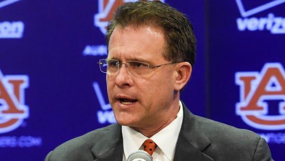 Auburn coach Gus Malzahn will hold a press conference