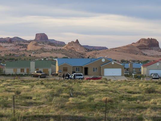 Navajo housing