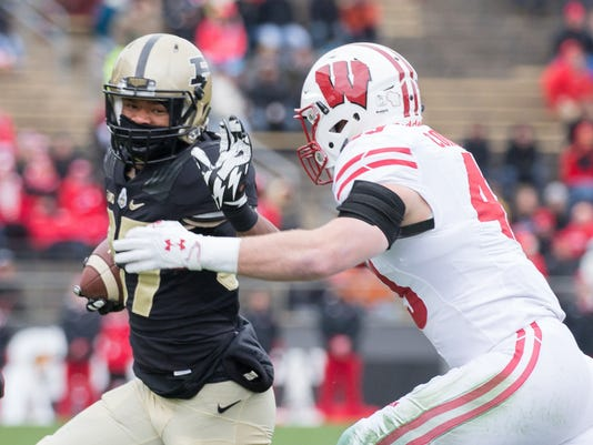 NCAA Football: Wisconsin at Purdue