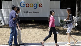 Google's Mountain View, Calif., campus