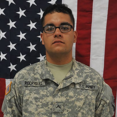 Kevin J. Rodriguez, an infantryman with Company A, 1st Battalion, 187th Infantry Regiment, 3rd Brigade Combat Team, 101st Airborne Division
