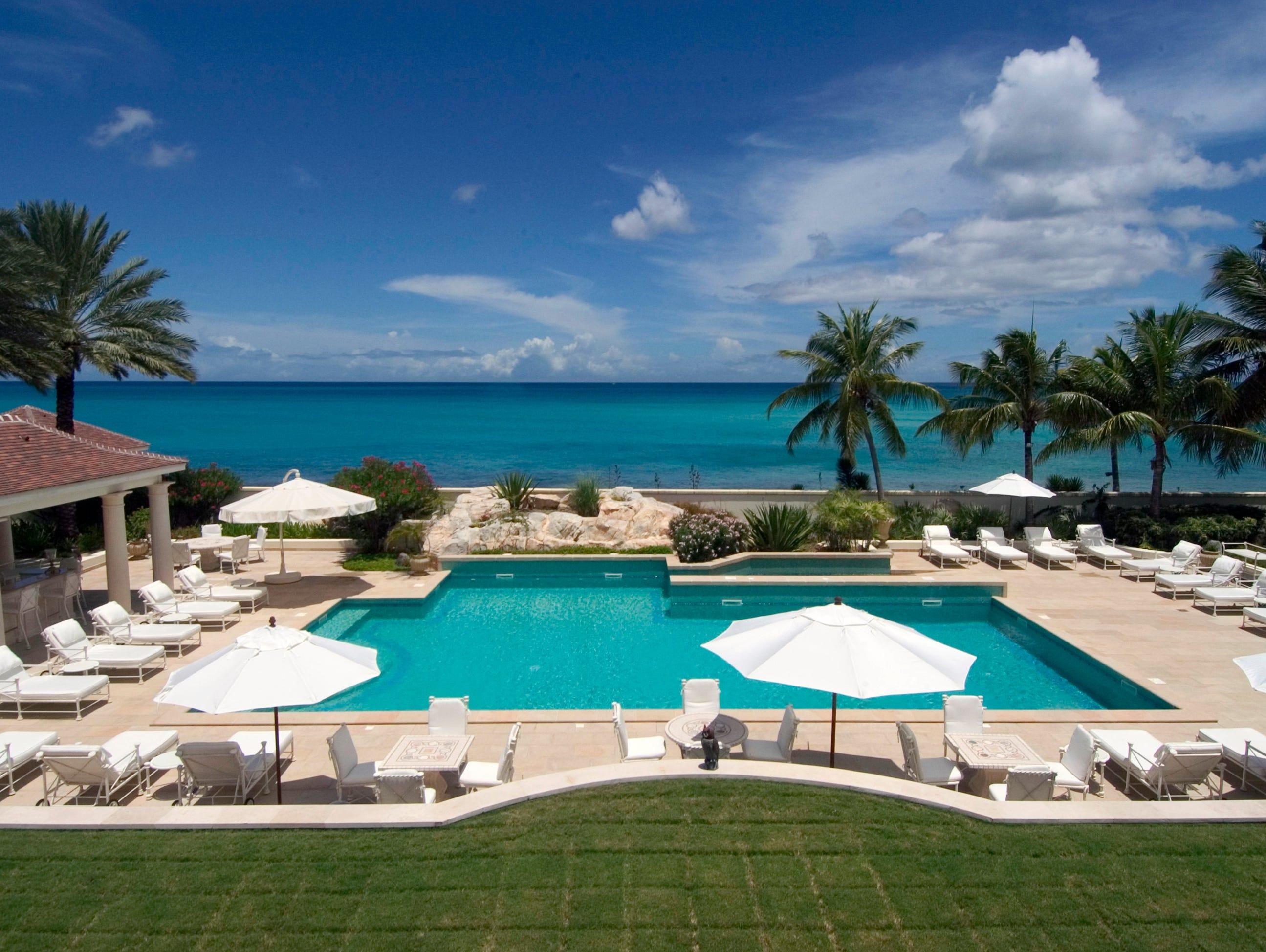 trump s caribbean villa survives irma  other celebs weren