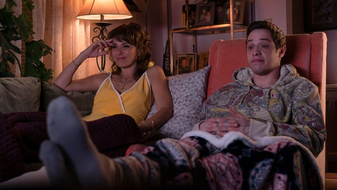 Margie (Marisa Tomei) and her son Scott (Pete Davidson) find a little hanging-out time.