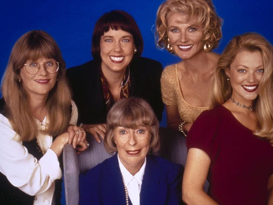 """The Five Mrs. Buchanans"" aired on CBS from 1994 to"