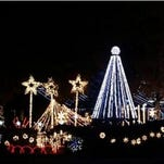 Take a tour of holiday lights