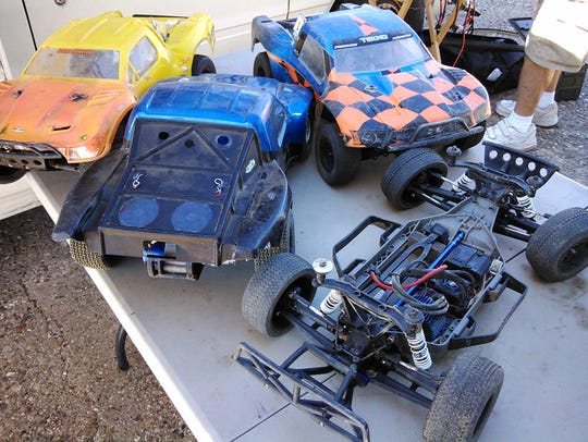 These are the large, sturdy, radio-controlled off-road