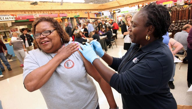 """""""Now is the time to get vaccinated,"""" said Dr. Paul Silverman, deputy director of the Delaware Division of Public Health. """"There's always room for surprises when it comes to the flu. It's unpredictable."""""""
