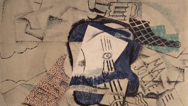 """Picasso's """"Ma Jolie."""""""