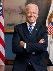 Official portrait of Vice President Joe Biden in his
