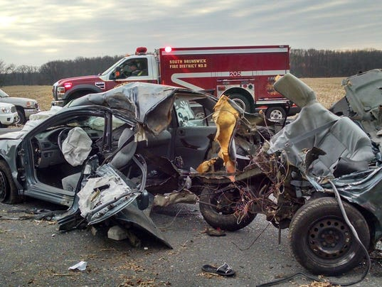 Seat belt helps save life of driver who struck pole in for Motor vehicle new brunswick nj