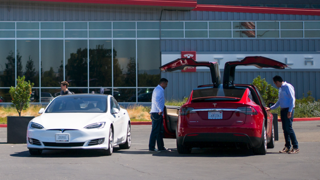 tesla speeds past ford in stock market cap. Cars Review. Best American Auto & Cars Review
