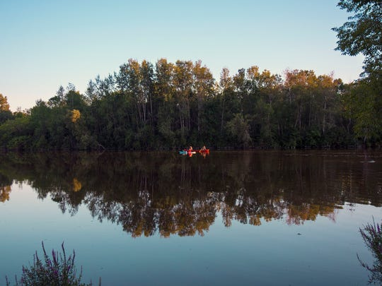 'Kayaking and Canoeing at Manitou Park,' a winning photo in the Manitowoc Area Visitor & Convention Bureau's 2017 Digital Photo Contest.