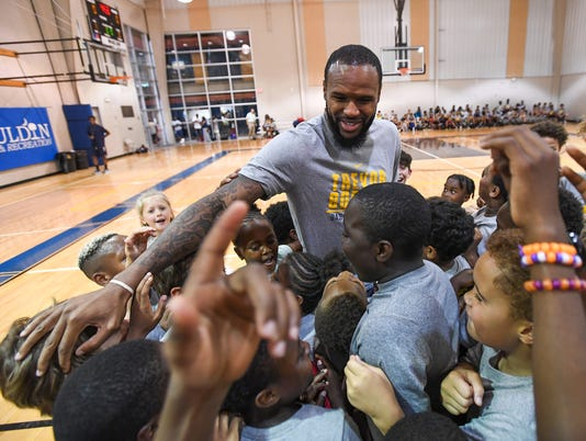 Trevor Booker Basketball Camp