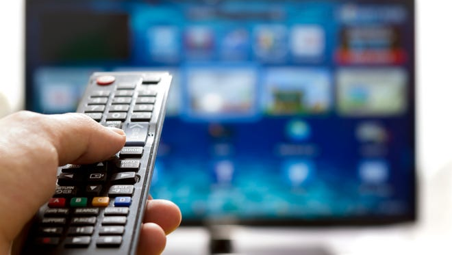 Stock image of a television.