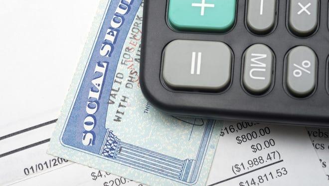 Social security calculation.